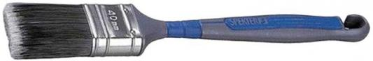 Кисть KRAFTOOL 1-01023-40 ERGO плоская искусственная щетина 40мм кисть круглая kraftool ergo 30мм 1 01029 30