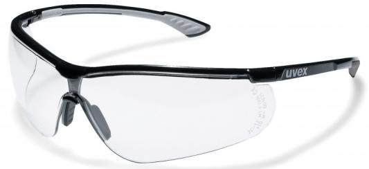 Очки открытые UVEX 9193080 Спортстайл Supravision Plus черно-серые