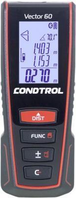 Дальномер CONDTROL Vector 60 60м ±1.5 лазерный дальномер лазерный condtrol x1 lite 30м