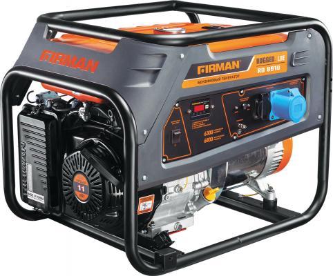 Бензиновый генератор FIRMAN RD8910 6,8кВт 25л 12В станок firman gt5 14a
