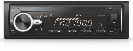 Автомагнитола ACV AVS-1711BW 1DIN 4x45Вт автомагнитола acv avs 1712w 1din 4x45вт
