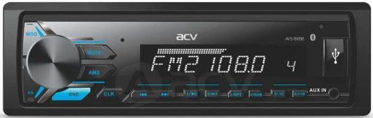Автомагнитола ACV AVS-812BB 1DIN 4x50Вт автомагнитола acv avs 812w 1din 4x50вт