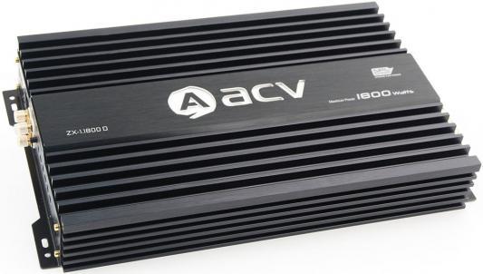 Фото - Усилитель автомобильный ACV ZX-1.1800D одноканальный усилитель автомобильный acv zx 1 1800d черный [32070]