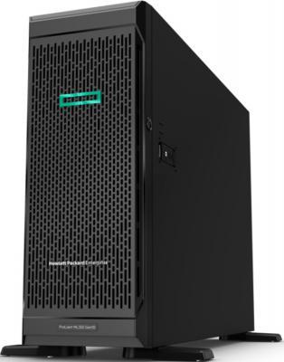 """лучшая цена Сервер HPE ProLiant ML350 Gen10 1x4210 1x16Gb 2.5"""" SAS/SATA P408i-a 1G 4P 1x800W (P11051-421)"""