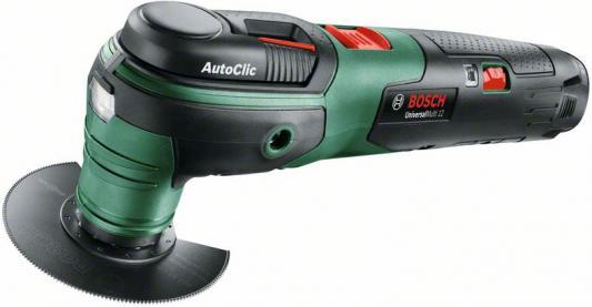 Многофункциональный инструмент Bosch UniversalMulti 12 зеленый/черный многофункциональный инструмент bosch pmf 190 e set 0603100521