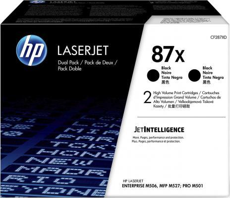 Тонер-картридж HP 87X (CF287X) для HP LaserJet Enterprise M506, M527, LaserJet Pro M501 36000стр Черный