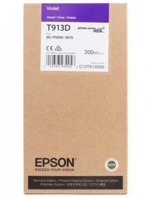 Epson I/C Violet (200ml) epson i c light cyan 200ml