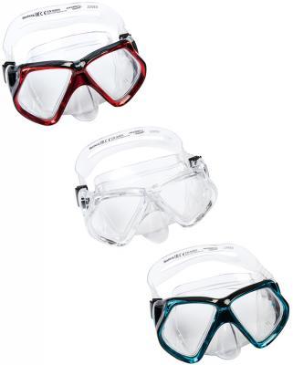 маска для ныряния Кристальный взгляд от 14лет 3 цв. в асс-те