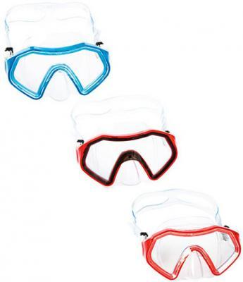 маска для ныряния Сверкающее море от 7лет 3 цв. в асс-те bestway детская маска для подводного плавания море bestway синий