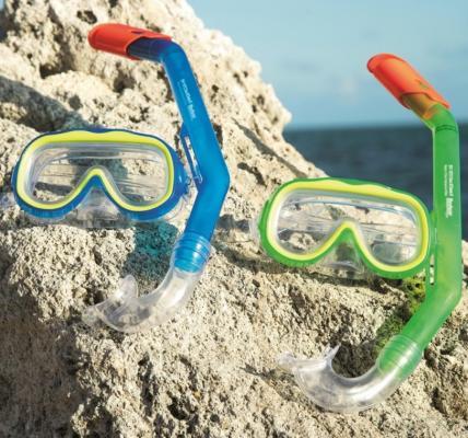 купить набор для ныряния Исследователь (маска, трубка) от 3лет 2 цв. в асс-те по цене 550 рублей