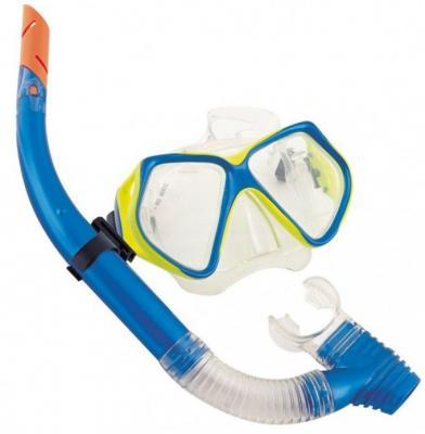 цена на набор для ныряния Океан (маска, трубка) от 14лет 2 цв. в асс-те