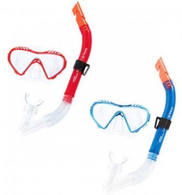 набор для ныряния Чистое море (маска, трубка) от 7лет 2 цв. в асс-те bestway детская маска для подводного плавания море bestway синий