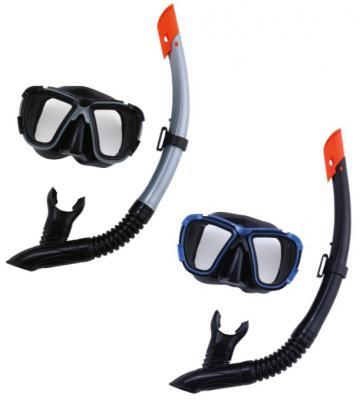 набор для ныряния Черное море (маска, трубка) 2 цв. в асс-те bestway детская маска для подводного плавания море bestway синий