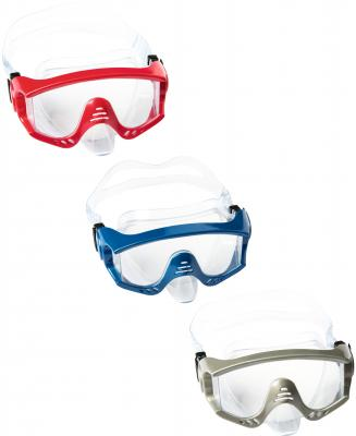 маска для ныряния Тигровый пляж от 14лет 3 цв. в асс-те