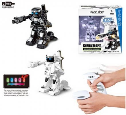 Игрушка Shantou Gepai Робот на радиоуправлении светящийся цена