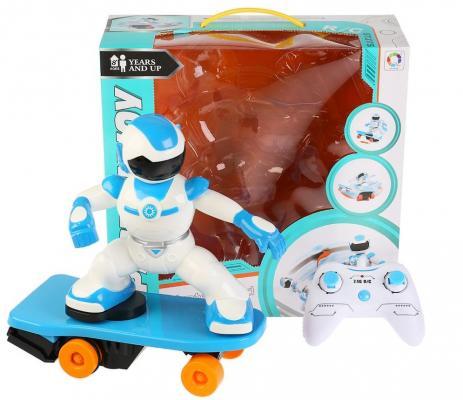 Игрушка Shantou Gepai Робот 32 см на радиоуправлении двигающийся цена