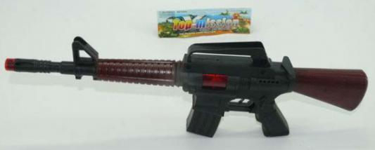 Фото - Автомат-трещетка Shantou M16-3 черный коричневый трещетка