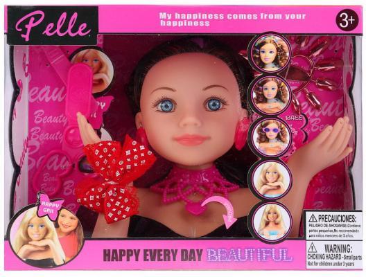 Кукла-манекен для создания причесок, свет+звук, с аксесс. 8868 в кор. в кор.2*24шт цена