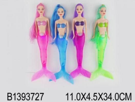 Кукла Shantou Кукла-русалка 29 см