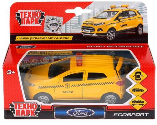 Такси ТЕХНОПАРК FORD Ecosport желтый все цены