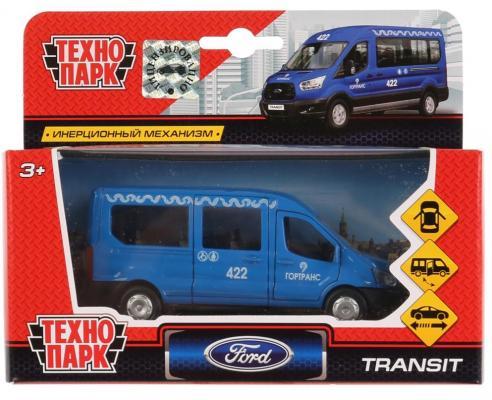 Инерционная машинка ТЕХНОПАРК FORD Transit синий bob the builder машинка инерционная цвет синий