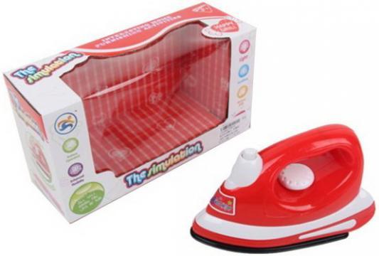 Купить Игрушка Наша Игрушка Утюг со звуком и светом, красный, Детская бытовая техника