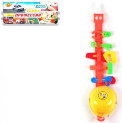 Купить Набор Строителя, предметов 7шт., пакет, Наша Игрушка, для мальчика, Игровые наборы Юный мастер
