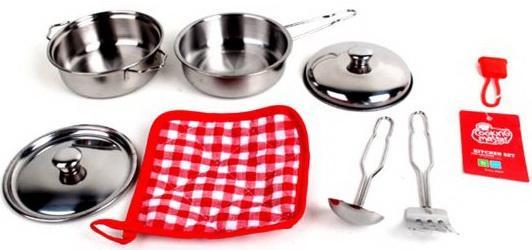 набор посуды Наша Игрушка 881220-W металлическая