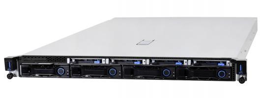 "QuantaGrid D52B-1U 2xIntel®Xeon®SP / Intel® C624/24x2666 MHz DDR4 RDIMM / 4x3.5""/2.5"" SATA/SAS Drives + optional 4x9mm SAS/SATA/NVMe Drives /3xPCI-E LP+SAS mezz slot + OCP mezz slot / w/o Power Supplies"