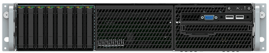 Intel® Server System R2208WF0ZS 2U, 2 x Socket 3647, Xeon SP, Intel C624, 24xDDR4 ECC REG DIMMs 2133/2400/2666 MHz, No onboard LAN, 8xHS HDD 2,5 SATA/SAS/NVMe, 6xPCI-E x8+IOM Conn+RM Conn, OCP support, 1x1300 Wt (1+0), no rails, no RMM цена