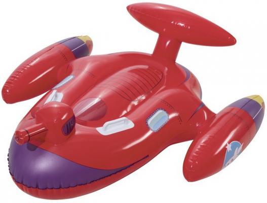 игрушка для катания верхом с брызгалкой Космолёт 109 х 89 см