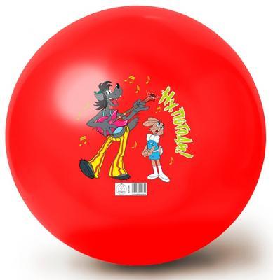 Мяч ЯиГрушка Ну, Погоди! красный ПВХ