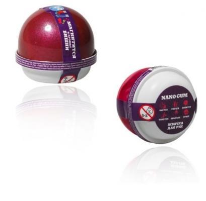Жвачка для рук SLIME Жвачка для рук Nano gum, 1 цвет жвачка для рук nano gum сиреневый фламинго меняет цвет 25гр ng25sf