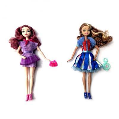 Купить Кукла Наша Игрушка BLD1111-2 29 см шарнирная в ассортименте, пластик, текстиль, Классические куклы и пупсы