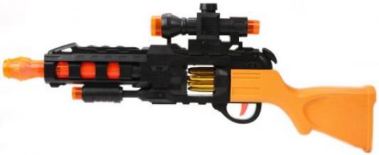 Автомат Наша Игрушка 2057-1 черный оранжевый микроволновая печь утюг panasonic nn gd38hszpe ni u400cptw