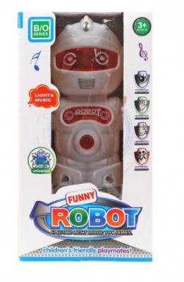 Игрушка Наша Игрушка Робот 15.5 см танцующий со звуком светящийся