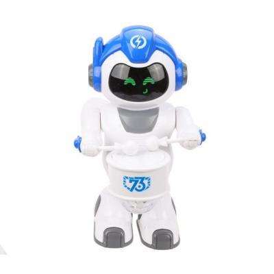 Купить Робот на батарейках Наша Игрушка 777-56 24 см со звуком светящийся, Игрушки Роботы
