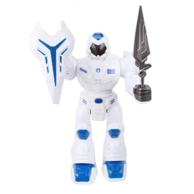 Купить Робот на батарейках Наша Игрушка 27166 28 см со звуком светящийся, Игрушки Роботы