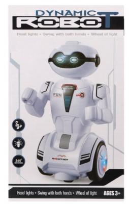Купить Игрушка Наша Игрушка Робот 21 см танцующий двигающийся со звуком светящийся, Игрушки Роботы