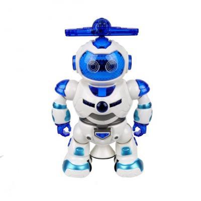 Купить Робот на батарейках Наша Игрушка 666-B 22 см со звуком светящийся, Игрушки Роботы