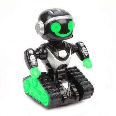 Купить Робот на батарейках Наша Игрушка 2629-T6 24 см со звуком светящийся, Игрушки Роботы