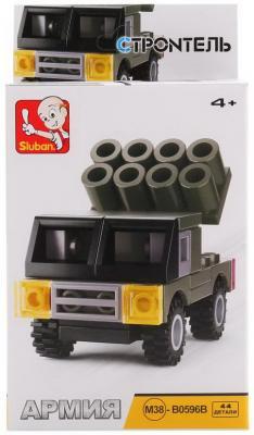 Конструктор SLUBAN Военная машина 44 элемента цена