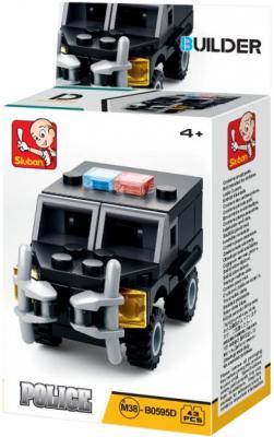 Конструктор SLUBAN Полиция 43 элемента цена