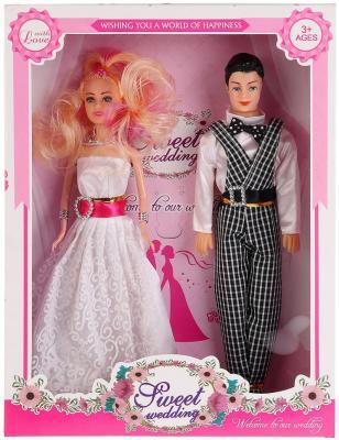 Купить Набор кукол Shantou 1865 29 см, пластмасса, Классические куклы и пупсы
