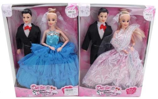 Купить Набор кукол Shantou 6880-03 29 см, пластмасса, Классические куклы и пупсы