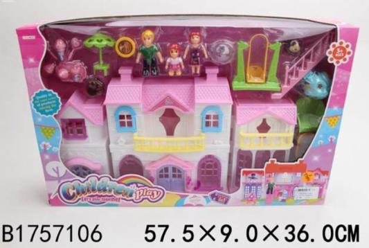 Дом для кукол Shantou Дом для кукол маска для волос мануфактура дом природы мануфактура дом природы ma151lwlzg77