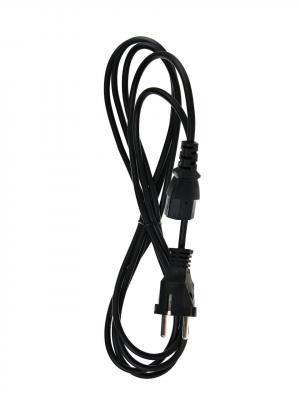 Кабель компьютер - розетка 220V <3.0м> (Европейский стандарт) <TP021-3.0-BK> кабель питания для ноутбуков telecom 1 8m 3 pin с заземлением 220v европейский стандарт