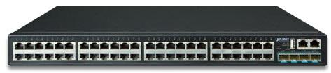 Layer 3 48-Port 10/100/1000T + 4-Port 10G SFP+ Stackable Managed Gigabit Switch