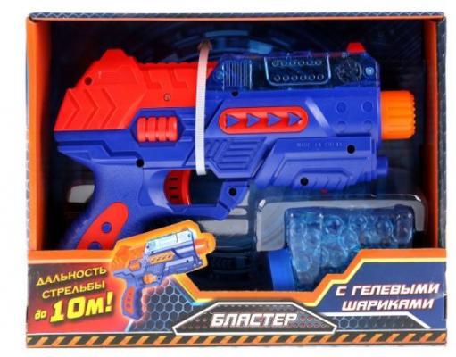 Купить Бластер ИГРАЕМ ВМЕСТЕ Бластер синий оранжевый, синий, оранжевый, размер упаковки220x50x160 мм, для мальчика, Игрушечное оружие