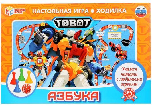 Настольная игра УМКА ходилка Азбука. Тоботы цена в Москве и Питере
